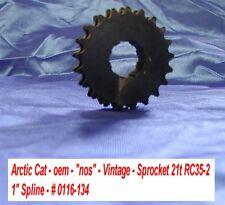 "Arctic Cat NOS Sprocket, 21 tooth RC35-2 # 0116-134 Vintage 1"" Spline 71 Panther"