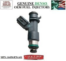 Acura RL 3.7L V6 (2009-2010) OEM Denso #16450-R70-A01 Refurb 1pack Fuel Injector