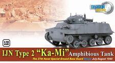 "Dragon Armor 1/72 Scale WWII German  IJN Type 2 ""Ka-Mi"" Amphibious Tank 60584"