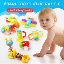 9tlg Baby Spielzeug Babybett ab 6 monate Rasseln Greiflinge Rassel Babyrassel