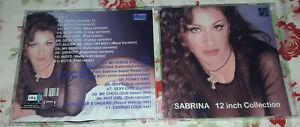 Sabrina Salerno - 12 inch Collection (2 CDs) VOL.1 SPECIAL FAN EDITION Very Good