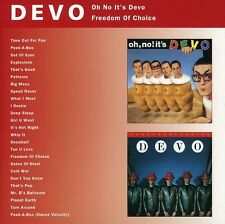 Devo - Oh No It's Devo & Freedom of Choice [New CD] England - Import
