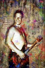 Bradley Nowell Pop Art Poster, Sublime Tribute Print Bradley Nowell Print 12x18