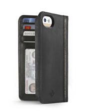 Case Twelve South BookBook for iPhone 4 4S Genuine Leather - BLACK