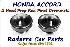 2 (Two) Honda Accord 1990-1997 - Hood Prop Rod Pivot Grommets