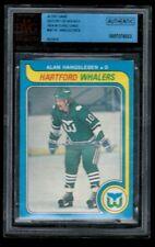 1979-80 O-Pee-Chee #307 Alan Hangsleben Whalers ITG Buyback BVG Authentic