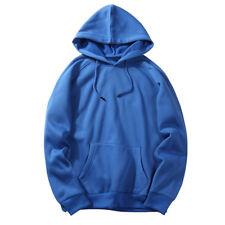 Mens Hooded Hoodies Casual Loose Sweatshirts Hip Hop Streetwear Pullover Tops