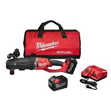 "Milwaukee Super Hawg 1/2"" Right Angle Drill Kit Cordless 18v Battery Li-Ion"