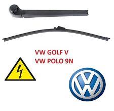 AERO Heck-Scheibenwischer Arm Set VW GOLF V 5 VW POLO 9N GOLF MK5 HINTEN TOP