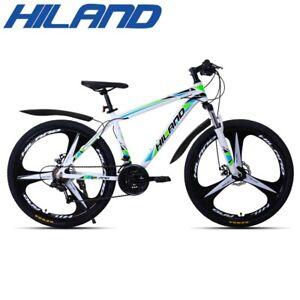 HILAND 26 inch 21 Speed Aluminum Alloy Suspension Bike Double Disc Brake