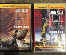 Deathlands Unabridged Audiobooks James Axler CASSETTES 7-8 Dectra Chain Ice/Fire