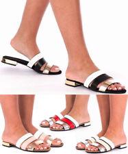 Women's Ladies Flats Slip On Flip Flop Summer Beach Sandals Holidays Shoes Size