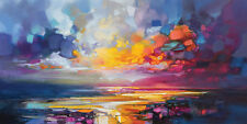 Scott Naismith - Relativity - 50 x 100cm Canvas Print Wall Art WDC93262