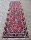 2'9 x 10'10 ft Handmade vintage afghan tribal medallion wool persian runner rug