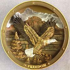 Gene Dieckhoner Spirit of Freedom 1st Sovereigns of the Sky Bird Collector Plate