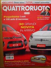 Quattroruote 609 2006 confronto Ferrari F430 - Ford GT - Porsche Turbo   [Q48]