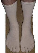 4x Pair Men Five Toe Flip Flop Geta Tabi Boot Sock S-2779x4 AU
