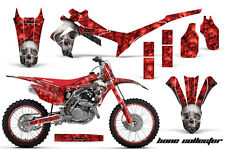Honda CRF 450R Graphic MX Kit AMR Racing # Plate Decal Sticker Part 13-14 BC R