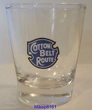 COTTON BELT ROUTE  RAILROAD / RAILWAY LOGO SHOT GLASS