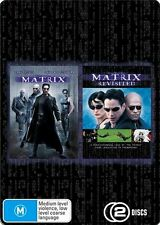 The Matrix / Matrix Revisited Metal Case (DVD, 2009, 2-Disc Set) Keanu Reeves