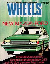 Wheels Aug 80 Sigma 2.6 E21 Bmw WB Caprice Laser Mazda