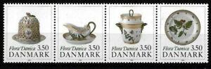 Denmark 1990 Art, Ceramics, Flora Danica Banquet Service, MNH / UNM
