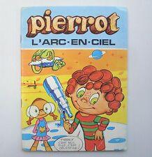 Livre ancien dessin animé Pierrot TF1 - L'arc en ciel- génération Goldorak Candy
