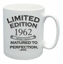 56th Novelty Birthday Gift Tea Mug 1962 Matured To Perfection Limited Coffee Cup