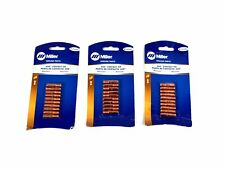 """New 30x Pcs Genuine Miller 000069 .045"""" Contact Tips for M-10, M-15, M-25, M-40"""
