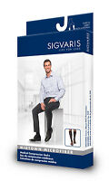 Sigvaris 821C Midtown Microfiber Knee High 15-20 Compression Closed Toe