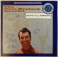 DAVE BRUBECK QUARTET DAVE DIGS DISNEY CD COLUMBIA JAZZ USA 1994 NEAR MINT