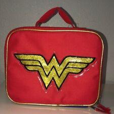 NWT Wonder Woman Lunch Box Red/Blue B18WW38832 One Size