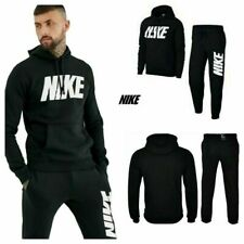 New Nike Mens Fleece Full Tracksuit Joggers Hoodie Pullover Bottoms Gym Hoody