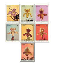 KUB7203 Tropical orchids MNH 1972