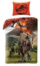 Jurassic World Bettwäsche Wendemotiv Kinderbettwäsche 140x200 Dino T-Rex Set