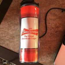 KASEY KAHNE #9 BUDWISER NASCAR 16oz CONTOUR TRAVEL MUG HOT & COLD
