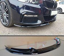 BMW 5 Series G30 M Sport Performance Posteriore avvio tronco LIP SPOILER MATTE BLACK UK