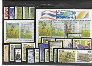 Ireland 1993. Collection of MNH stamps