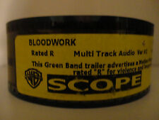 BLOODWORK (2012) 35mm Trailer #2 movie collectible cells SCOPE  1min 32secs