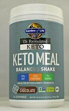 Garden of Life Keto Meal Balanced Shake Chocolate  24.69 oz 700 g