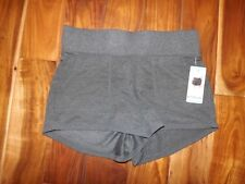Nwt Womens Active Life Charcoal Gray Knit Exercise Lounge Shorts Sz S Small