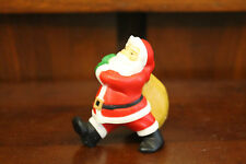 """Hallmark Merry Miniatures 1983 Santa Claus Walking With Bag """"Rooftop Deliveries"""""""