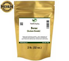 Borax Powder 2 Lb. Bag (sodium tetraborate) - 100% Pure Multi-Purpose Cleaner
