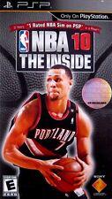 NBA 10: The Inside (PlayStation Portable PSP Game 2009) Basketball *Free Ship