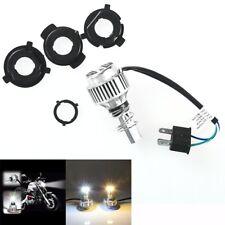 6500K H4 COB LED Bulb HID 360° Hi/Low Beam Motorcycle Headlight High Power White