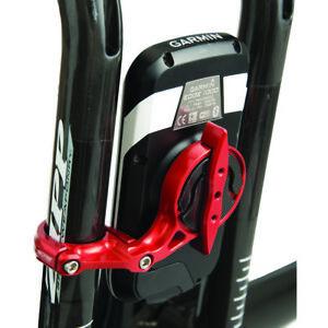 CatEye K-Edge Triathlon 22.2mm Handlebar Computer Mount - Red