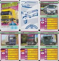 "F.X. Schmid Spielkarten ""Brummis"" 1997 (S, Quartett-Nr. 50206.8) Z 0-1-"