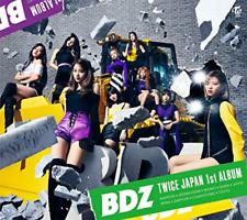 TWICE-BDZ (TYPE-A)-JAPAN CD+DVD+BOOK Ltd/Ed N58