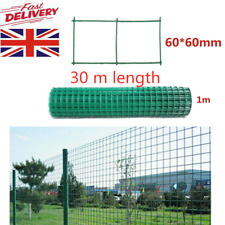 PVC Coated 300m Galvanised Wire Mesh Aviary Chicken Rabbit Garden Fence