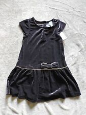 NWT Baby Gap Girls Dress W/Golden Ribbon Bow Holiday Toddler 12-18 months